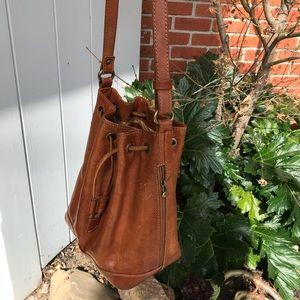 Handbags - Genuine Italian leather bucket bag